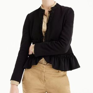 Going Out Ruffle Blazer, size 10, NWT